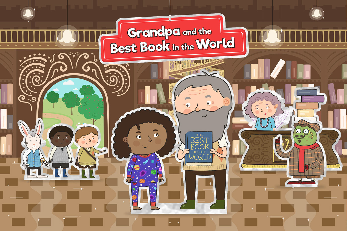 World Book Day cbeebies children Brian Blessed story Storytime BBC book Reading library
