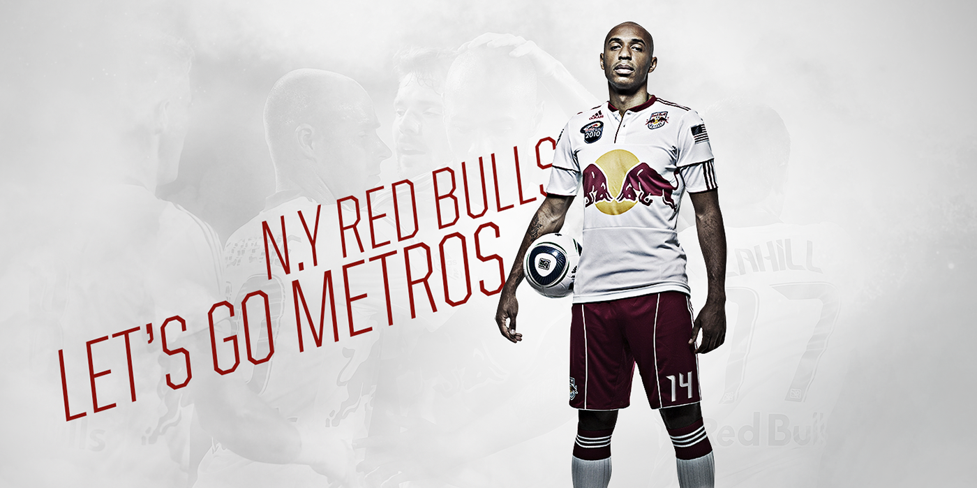 New York Red Bulls Wallpaper On Behance
