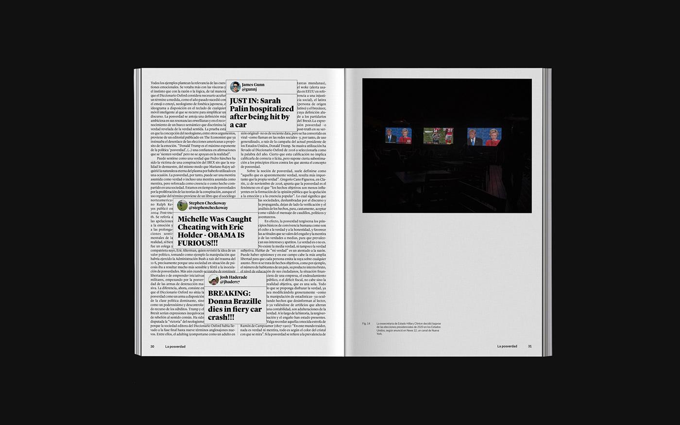 editorial design  graphic design  book Bookdesign photo printdesign Layout editorial satire politic