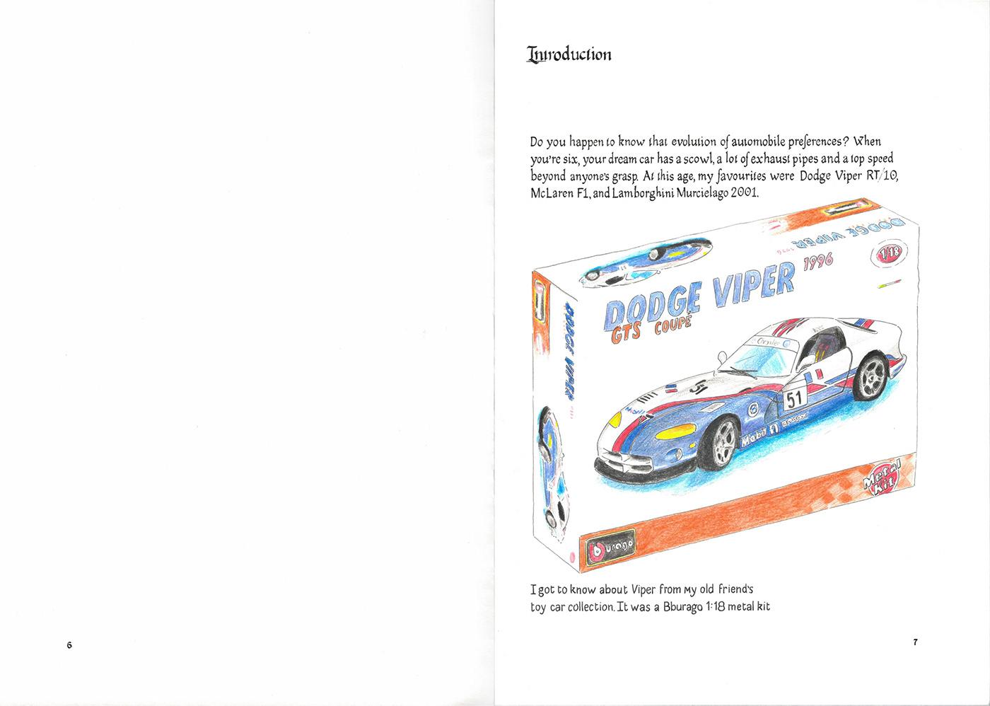 Nissan skyline book ILLUSTRATION  Calligraphy   Auto