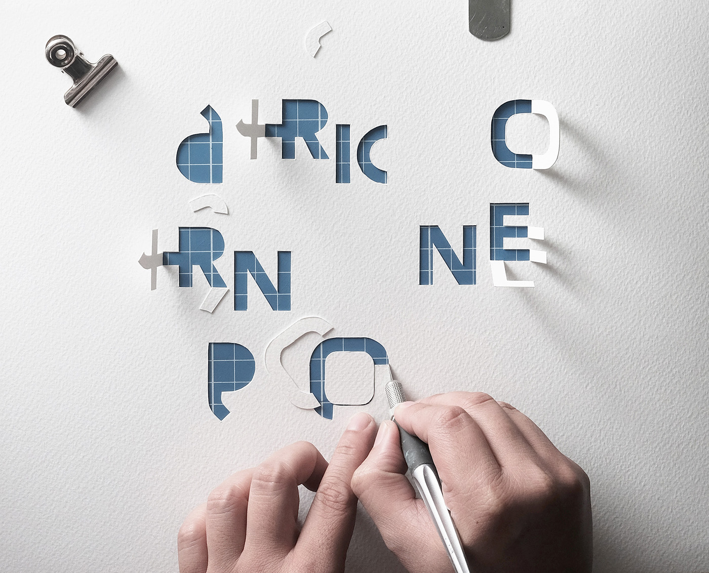 OPEN CALL papercut behance reviews Behance behance reviews manila behance portfoilio reviews poster tbwa\smp handcut typography open call poster behance open call