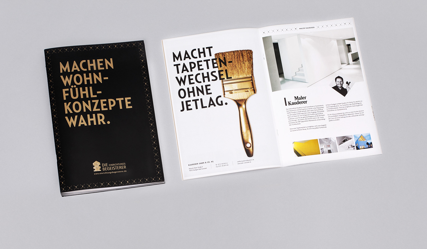 broschure fotografie Grafik Design image text