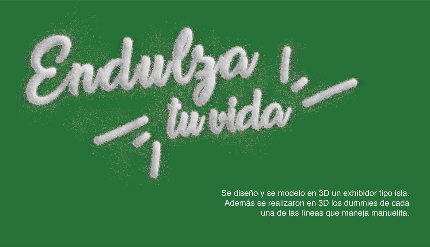 3D modeling packing empaque manuelita modelado 3d