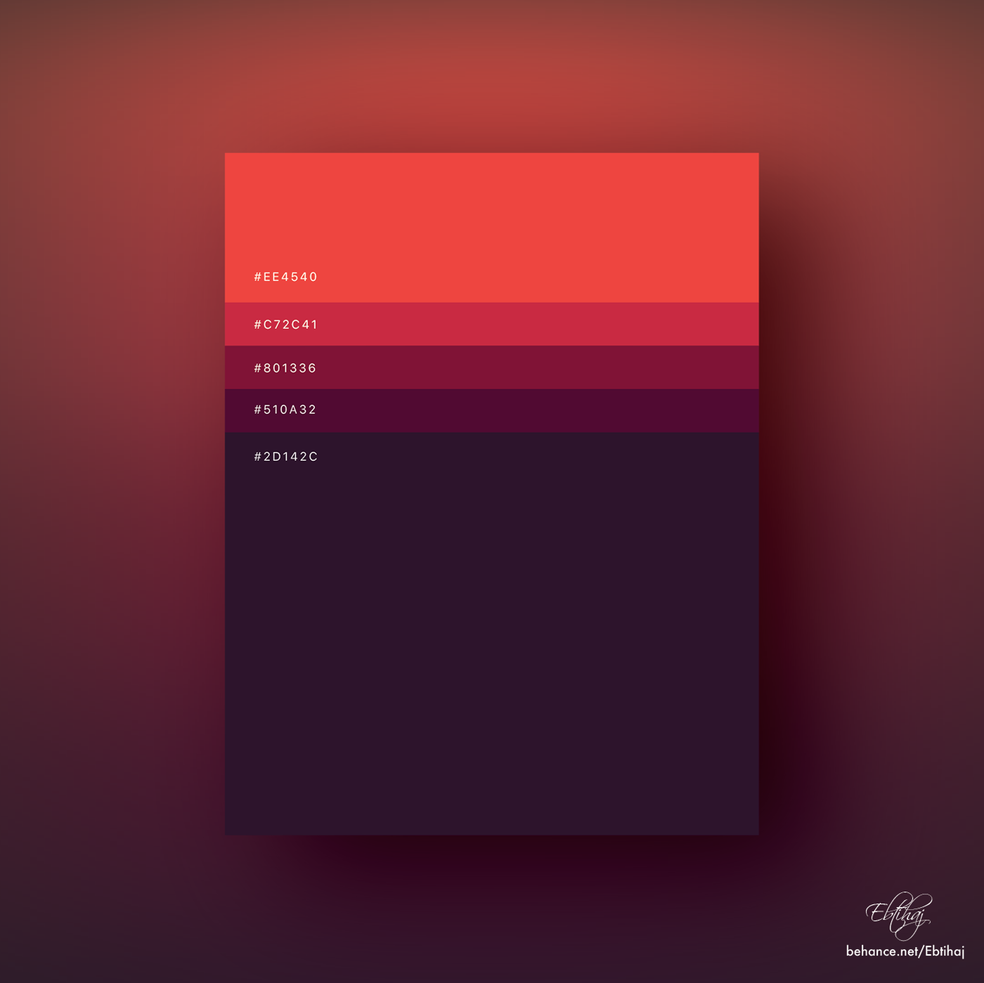 Colorful Minimalist Design