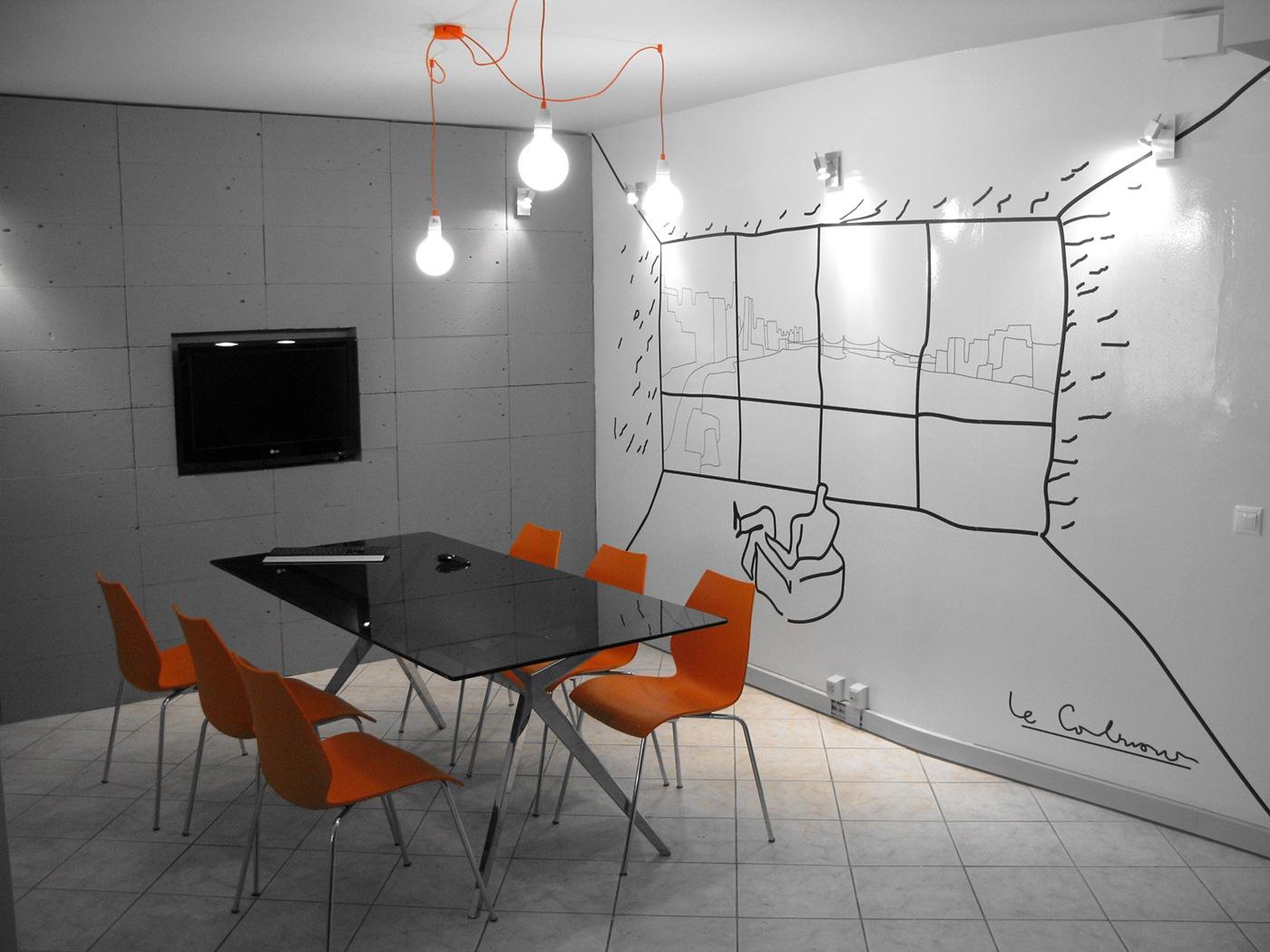 Delightful Architecture Office Design On Behance