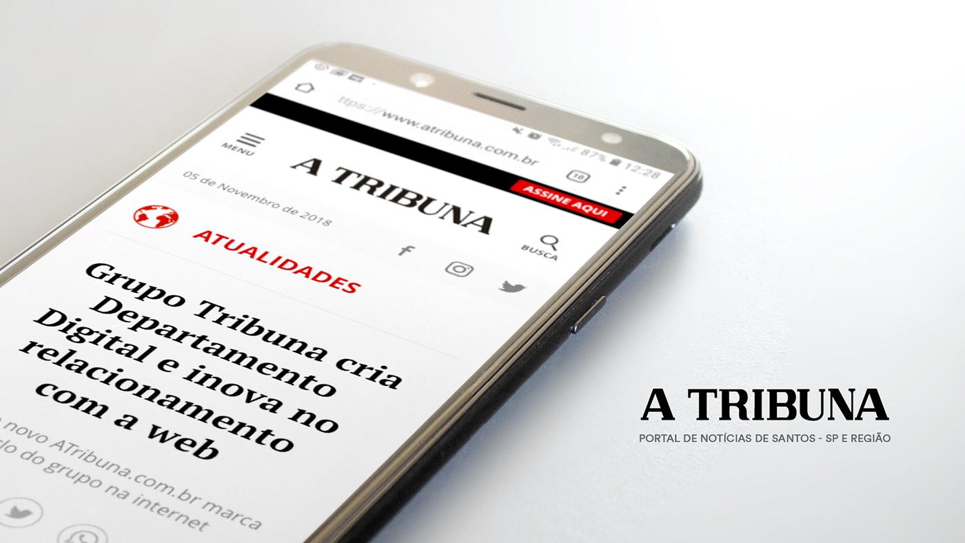 jornal news noticia portal jornalismo feed tags digital Reading Leitura