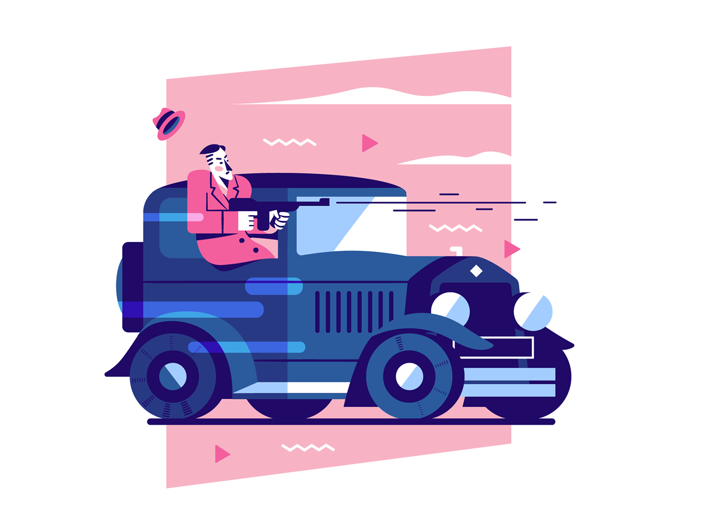 Image may contain: cartoon, land vehicle and vehicle