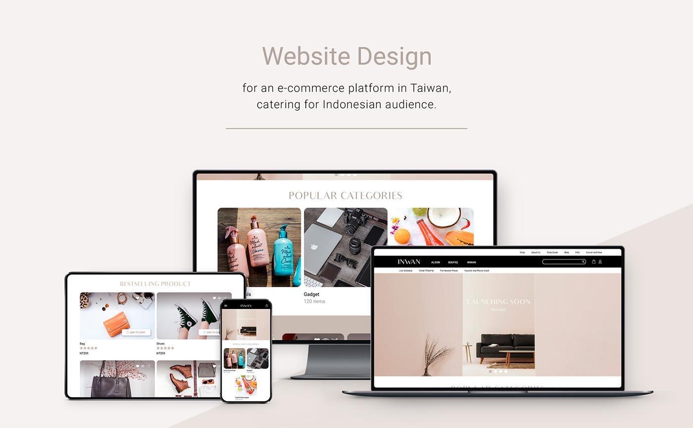 Responsive Design ui design Website Design