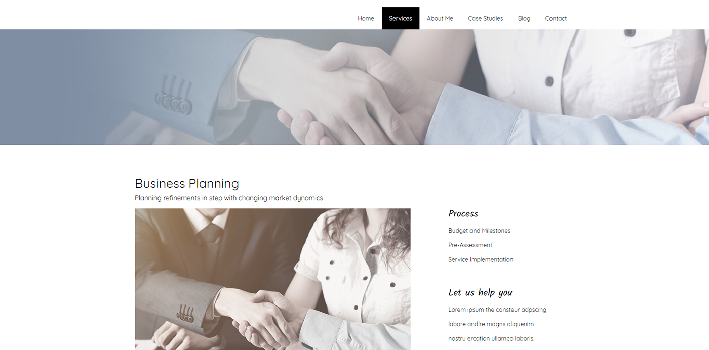 WordPress Application Example
