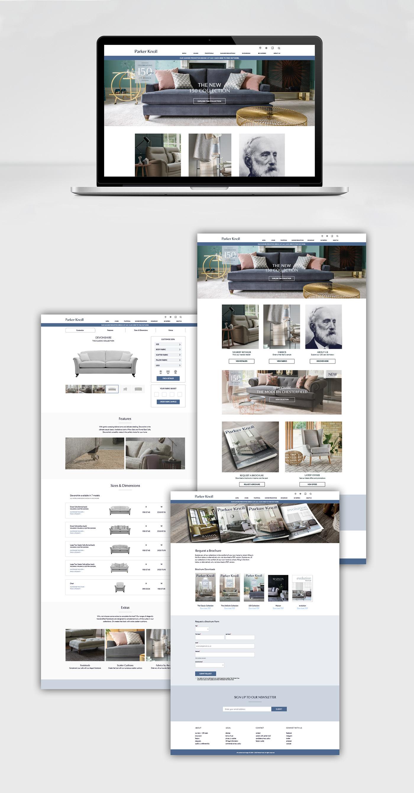 branding  brochure layout print digital art direction  furniture Exhibition