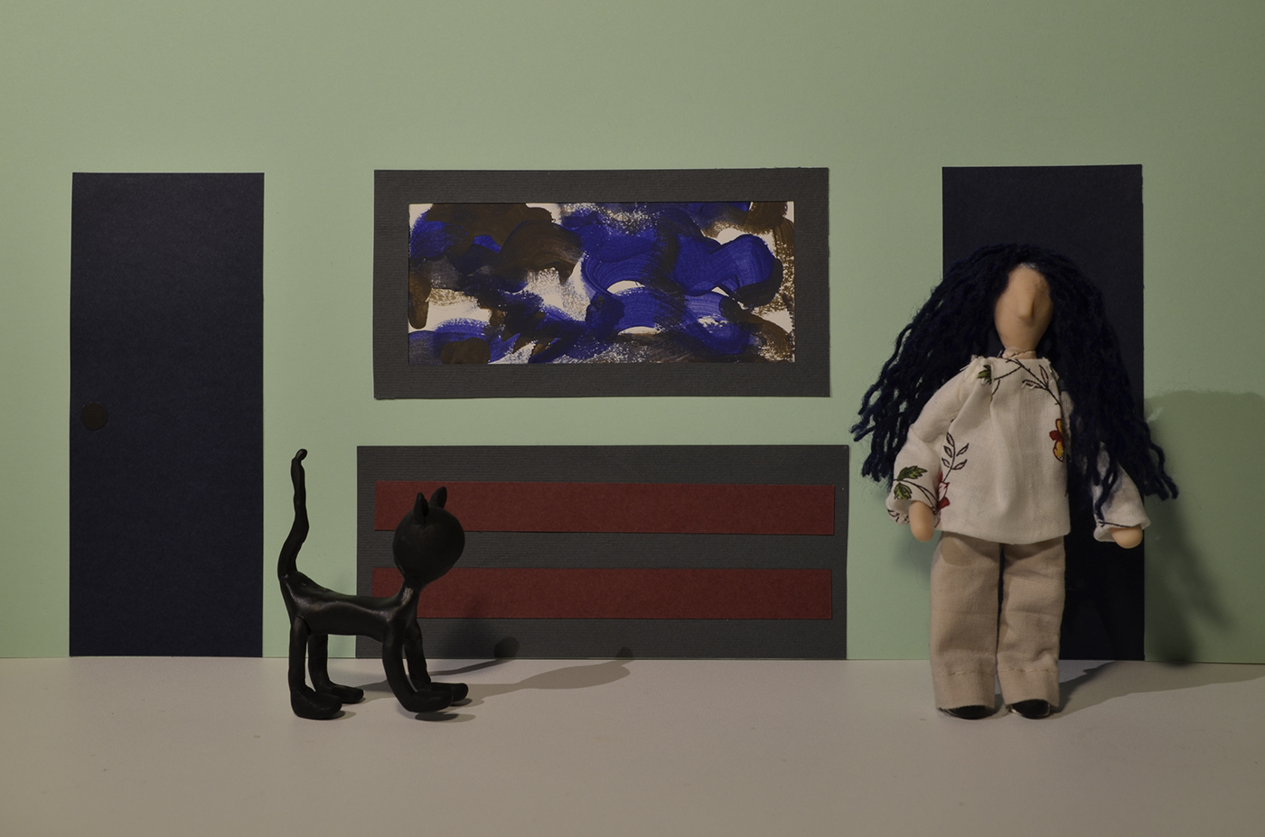 animação gatos pixilação puppets stopmotion IPCA