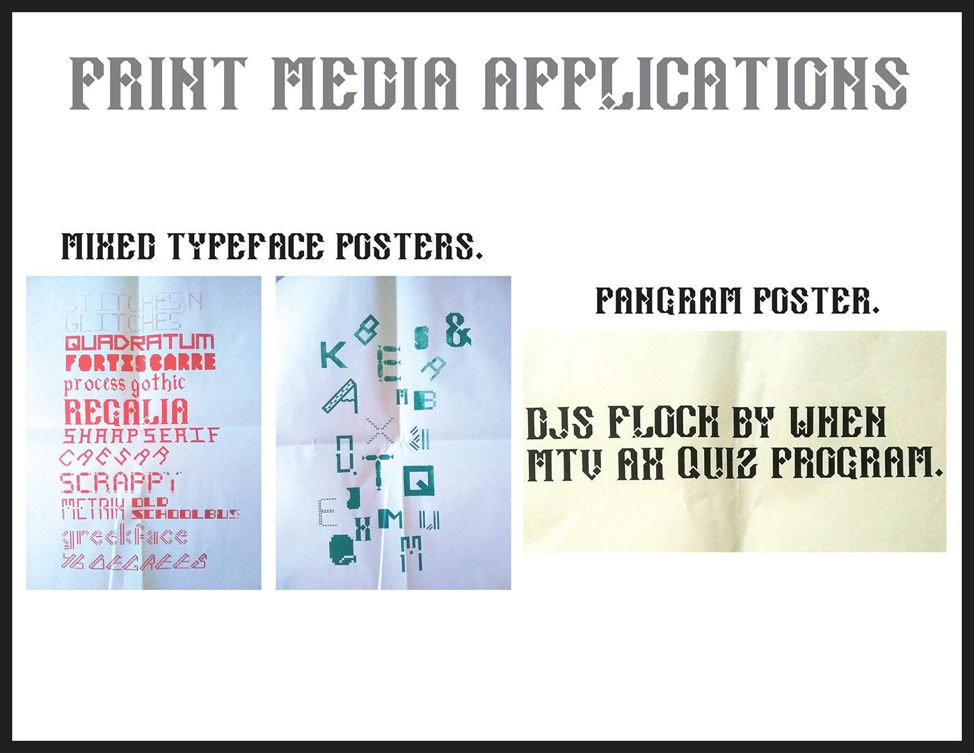 typography   type Typeface free letter alphabet digital Illustrator font serif