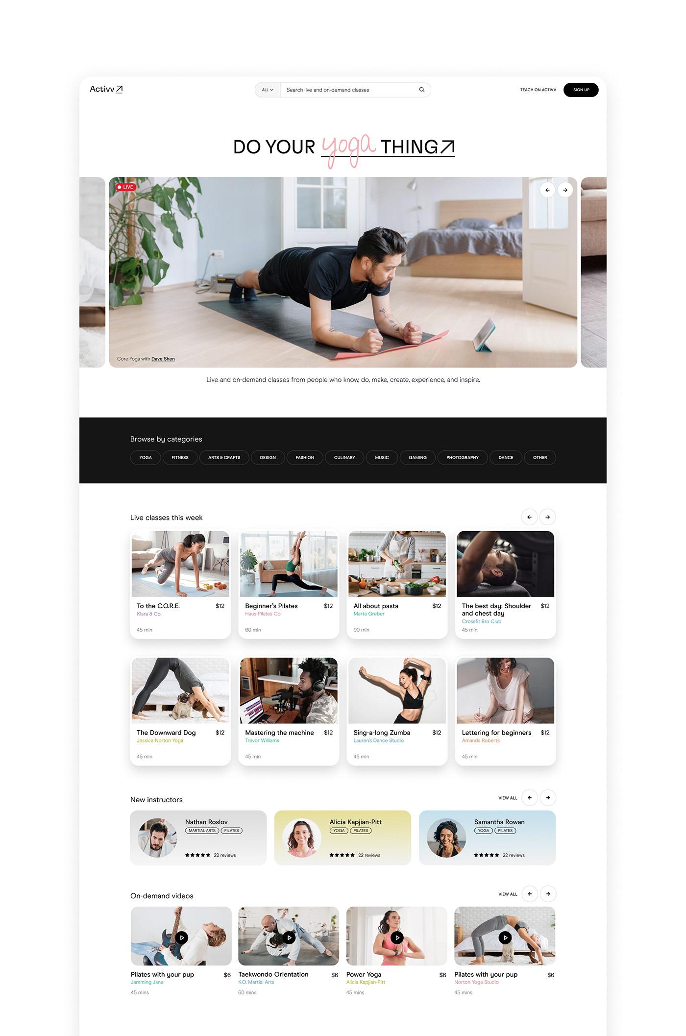 branding  Marketplace Platform product design  UI Website Hobby home identity mobile