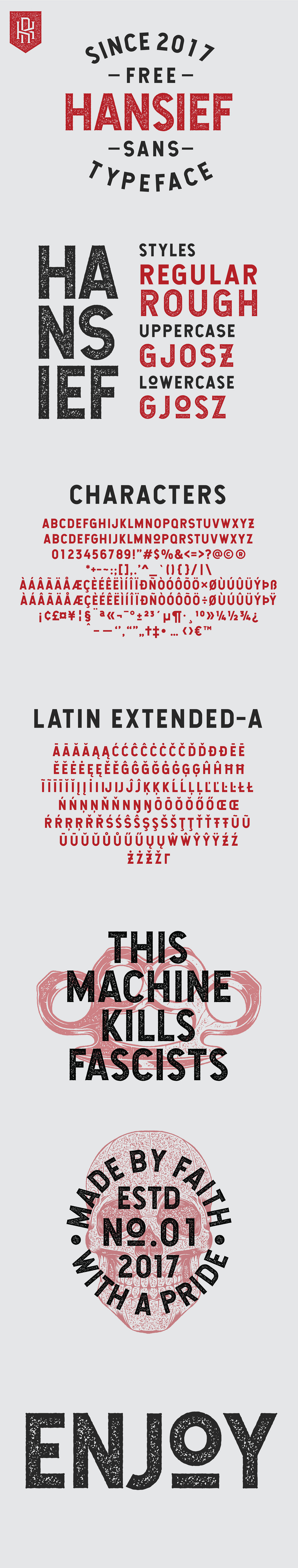 Free font free freebie sans serif free fonts vintage logo Badges commercial use texture