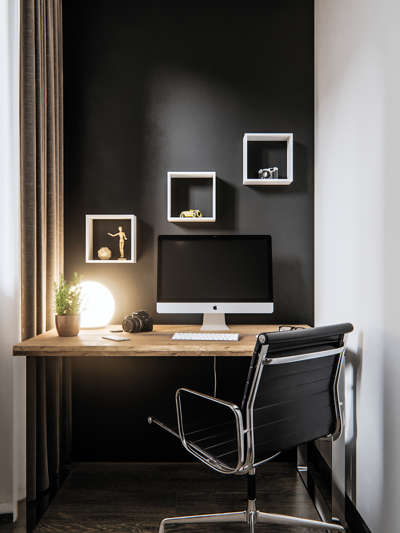studio apartment of 45 sq.m. on behance