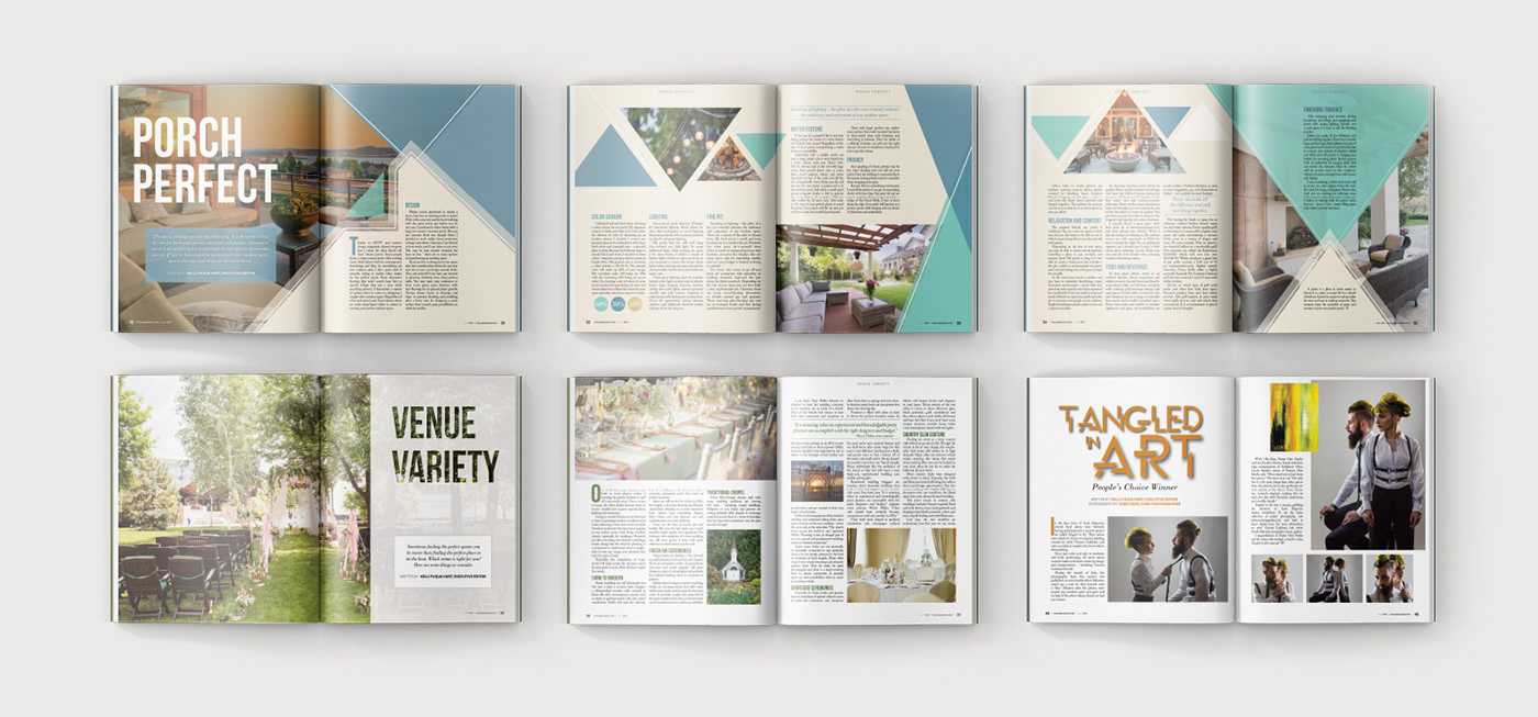 article editorial graphic design  hierarchy Layout Design magazine print publication publishing   typography