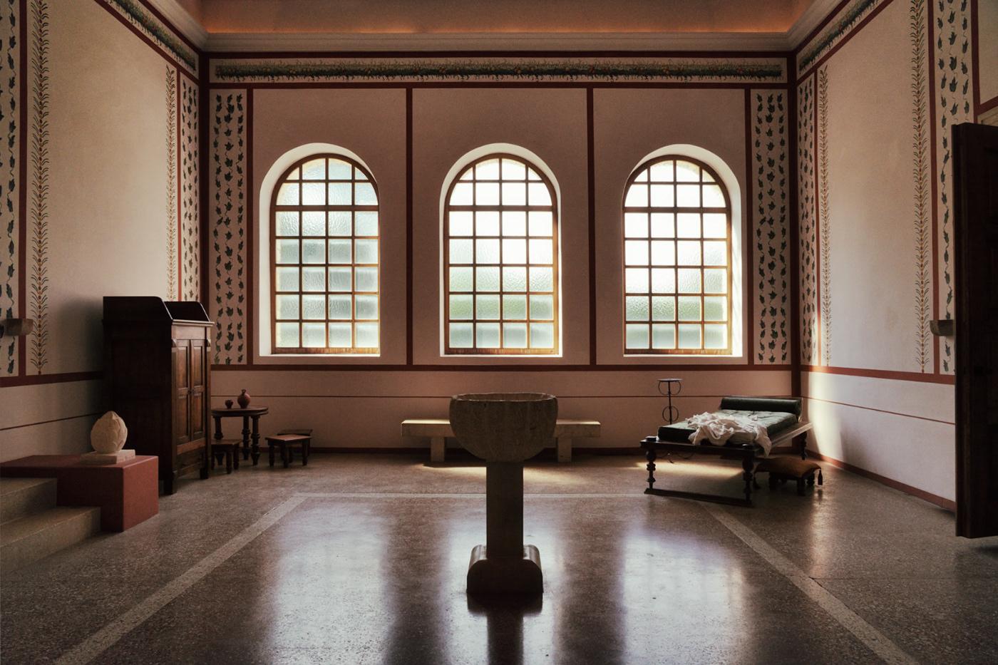 Image may contain: indoor, window and floor