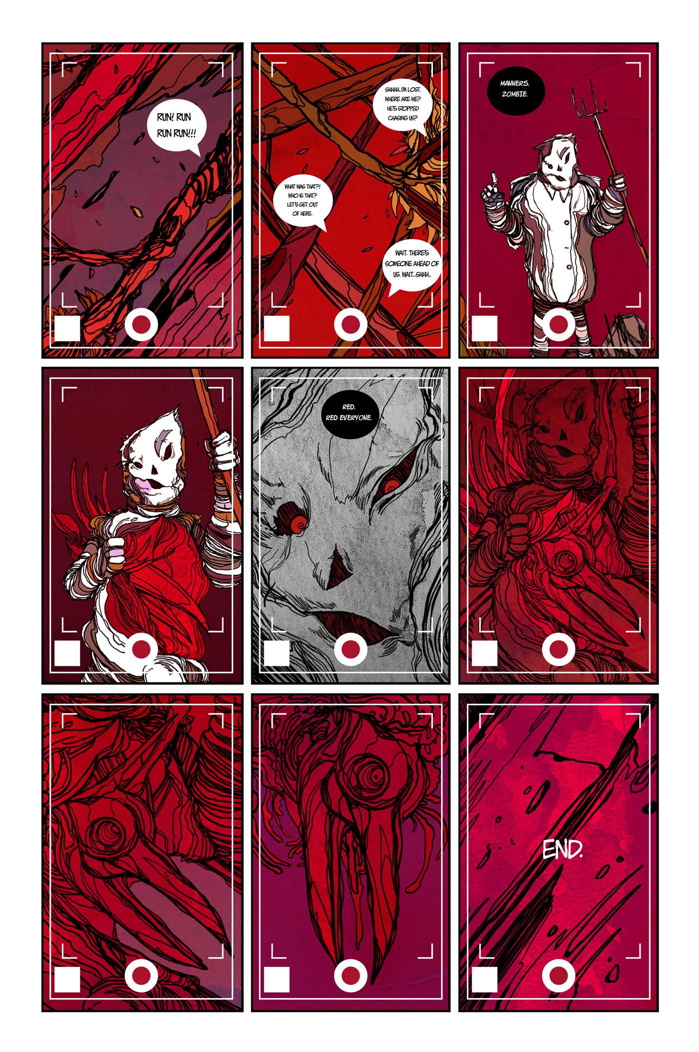 comic Comic Book comics creepy Scary horror Halloween cartoon Webcomic