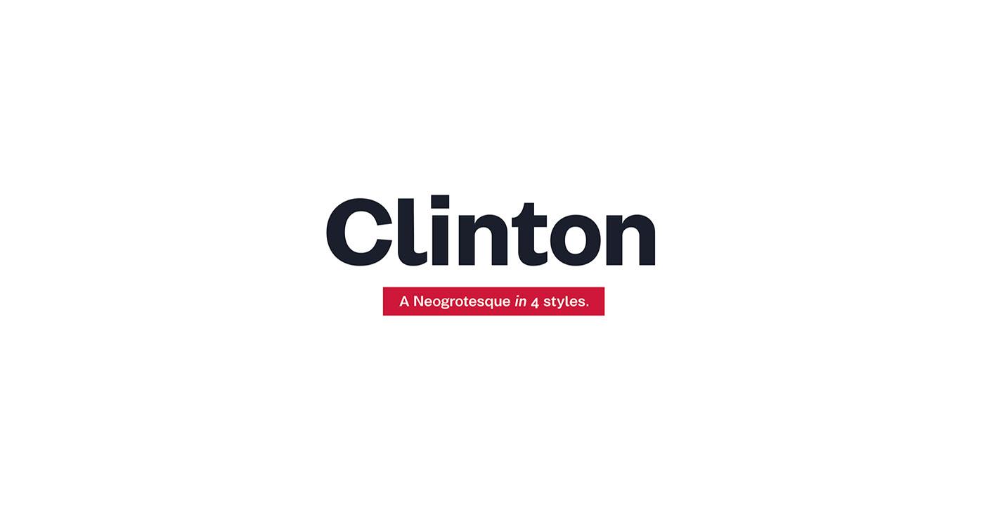type branding  modern clear corporate