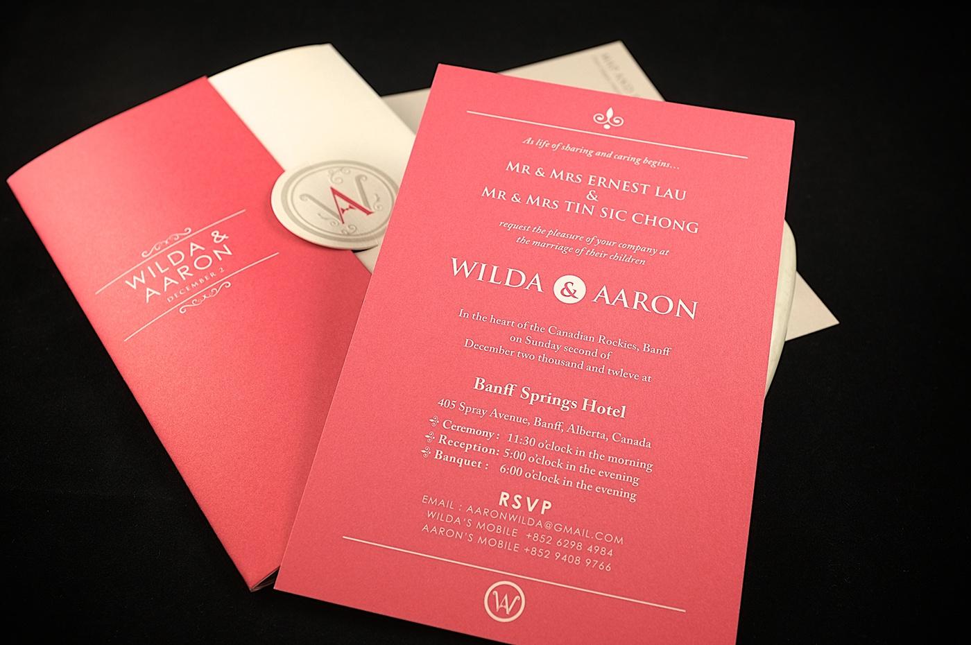 Pop-up Wedding Invitation Card on Behance