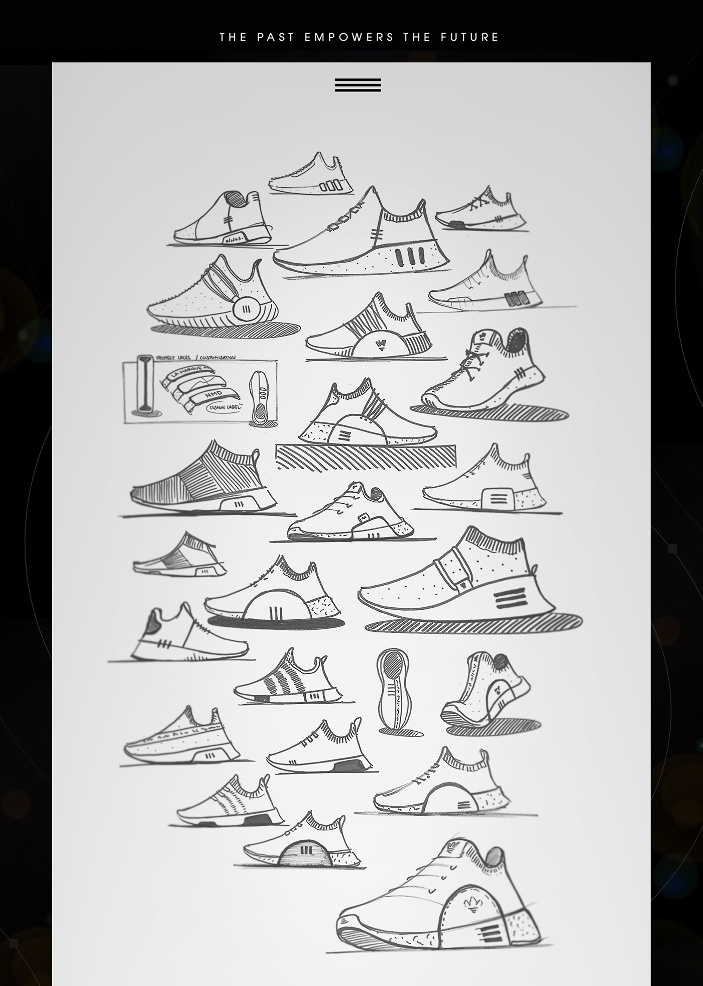 huge selection of bb381 a857b ADIDAS NMD Omega on Behance