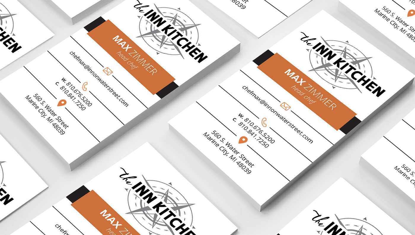 The Inn Kitchen Business Card On Behance