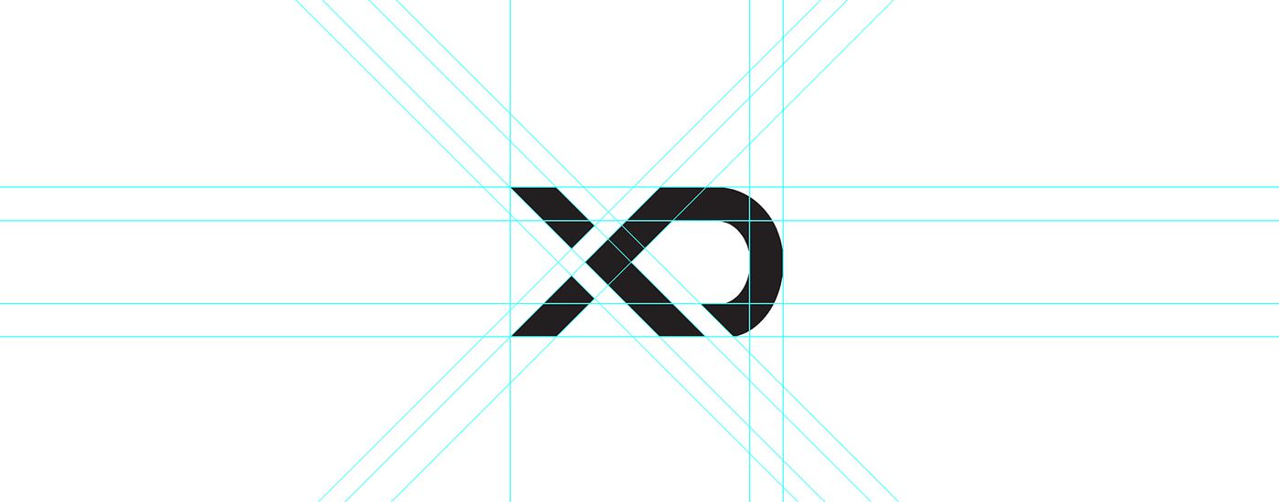 adobe experience design rebranding team applications xD gradient