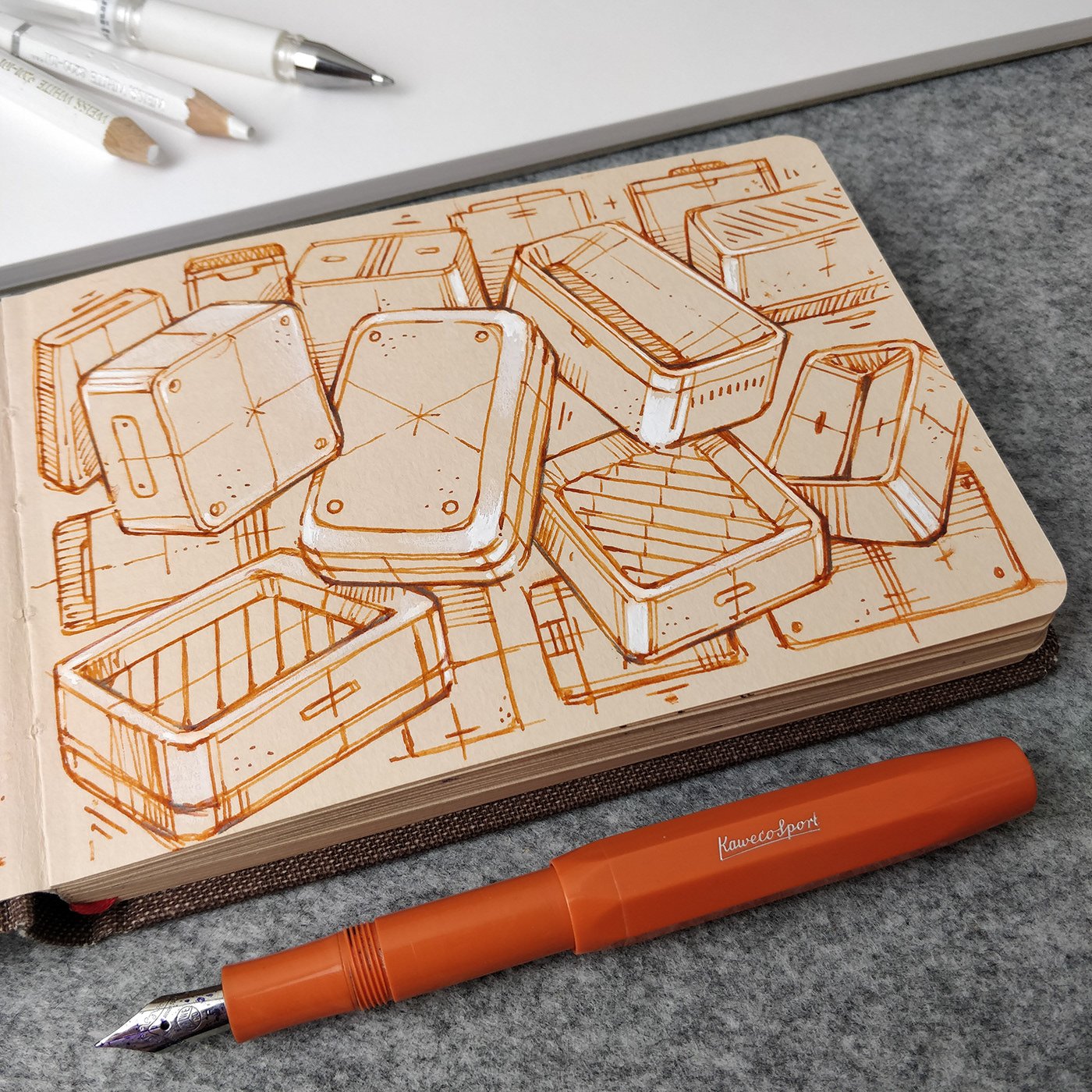 Image may contain: indoor, drawing and floor