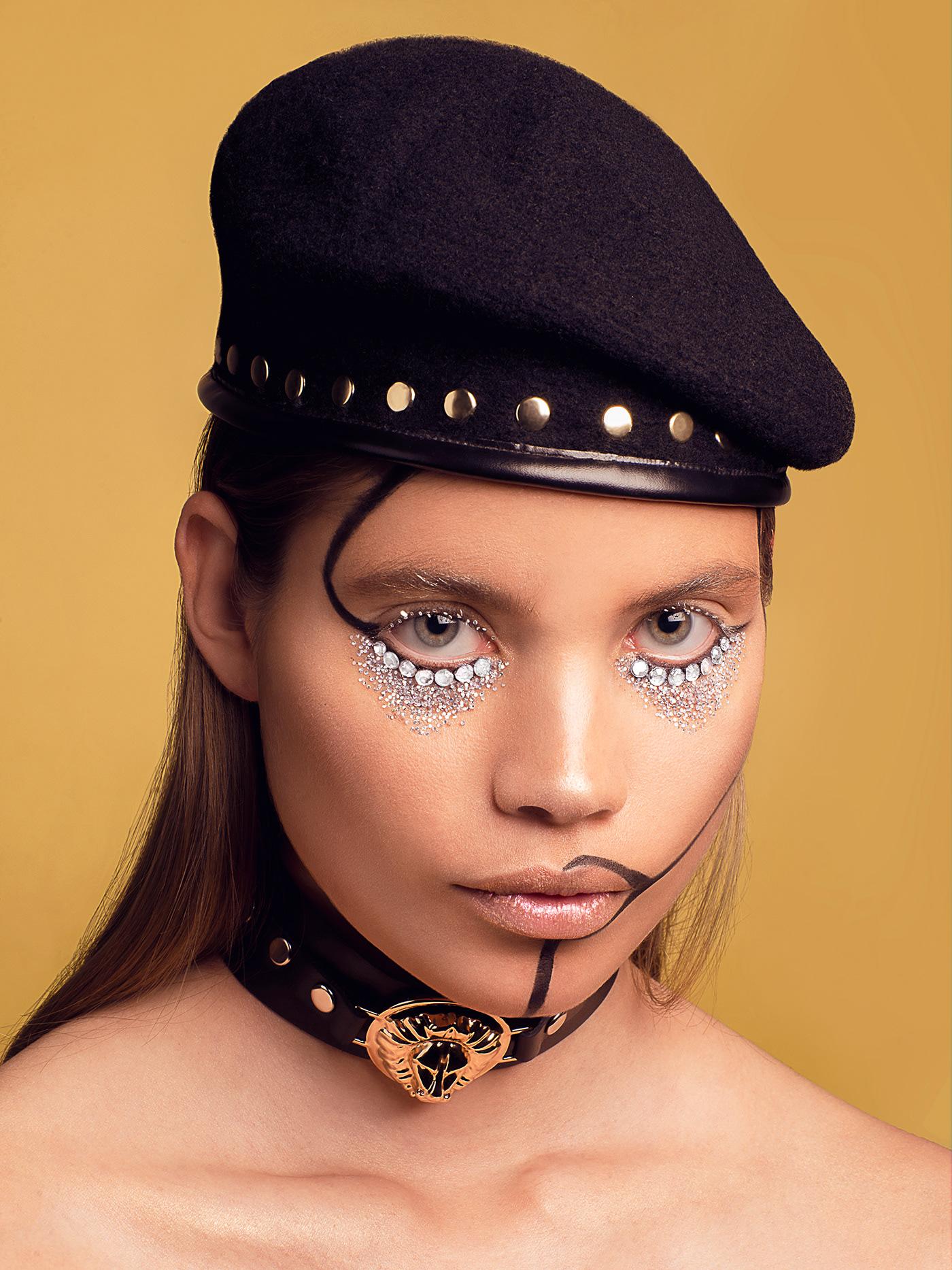 beauty diamonds editorial Fashion  High End Photography  yellow