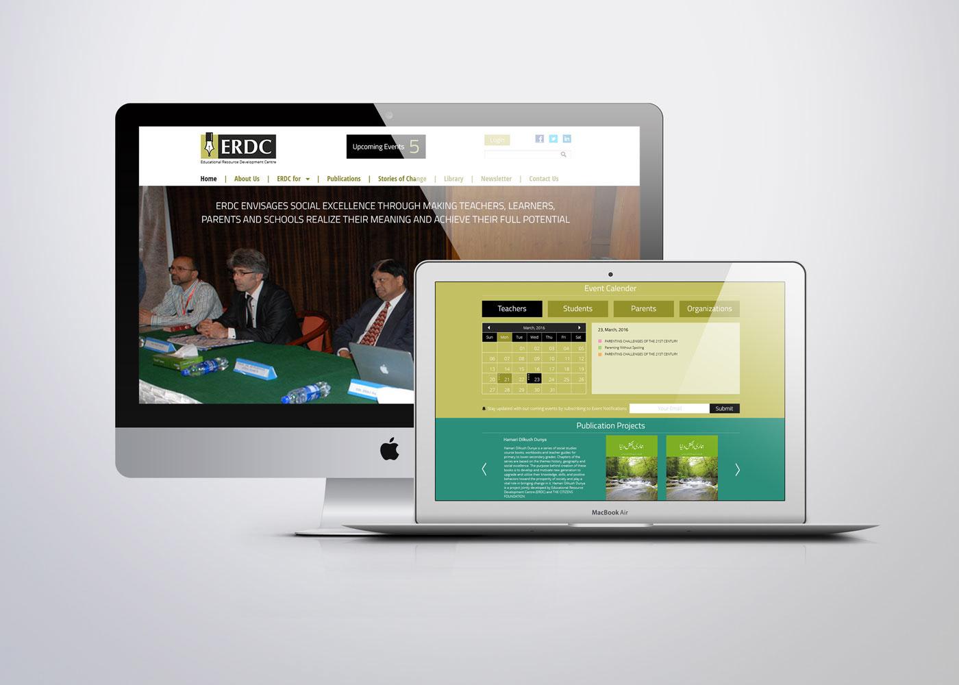 graphic design Web site erdc Education UI/UX UI ux photoshop