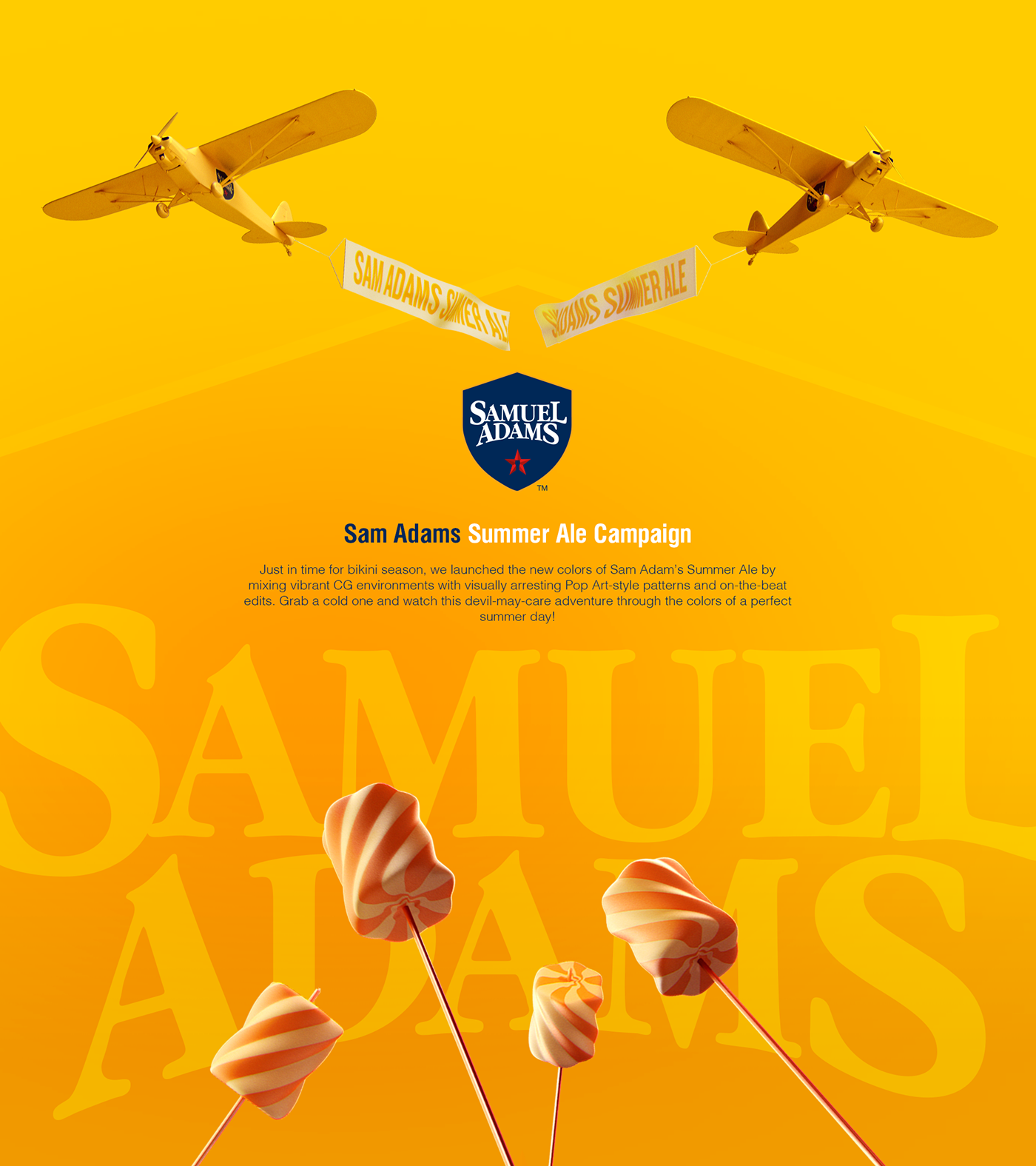 Sam Adams Summer Ale on Behance