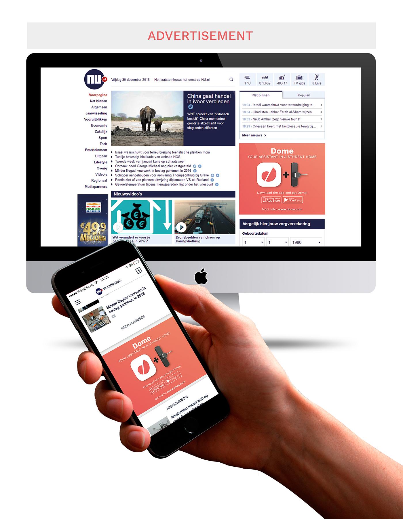 graphic graphic design  design app smart-lock logo poster Website html/css smartphone