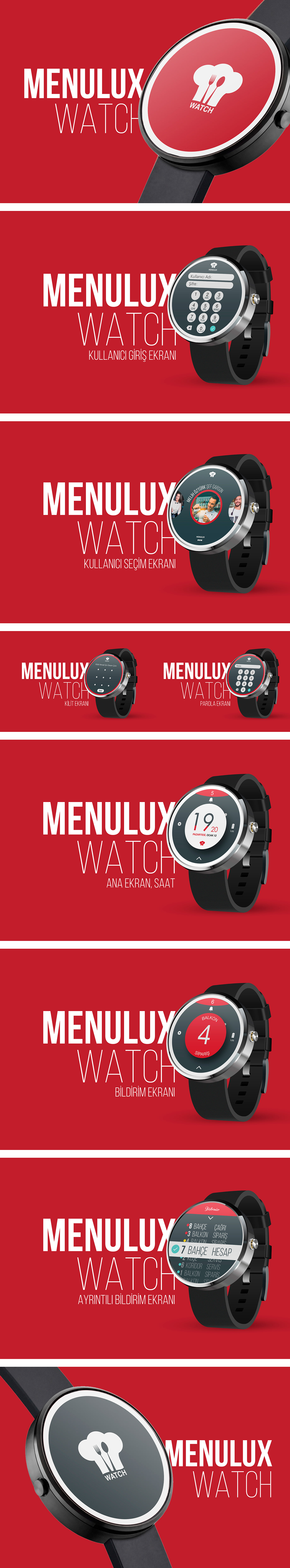 UI ux smartwatch design moto360