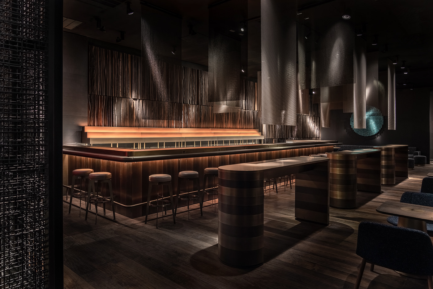 architecture bar Buddha buddha bar design modern art New York restaurant