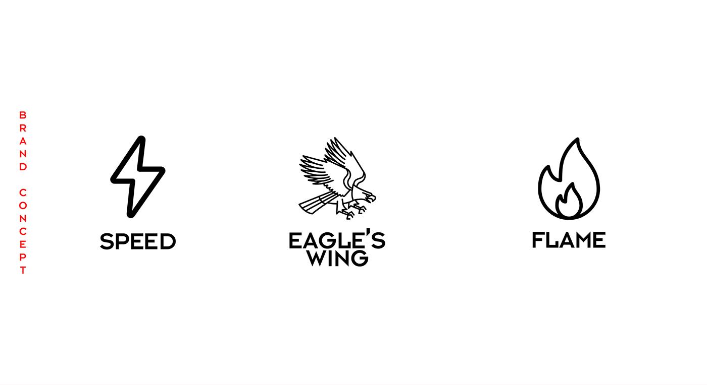 branding  fuel Gas logo logos oil oil station red