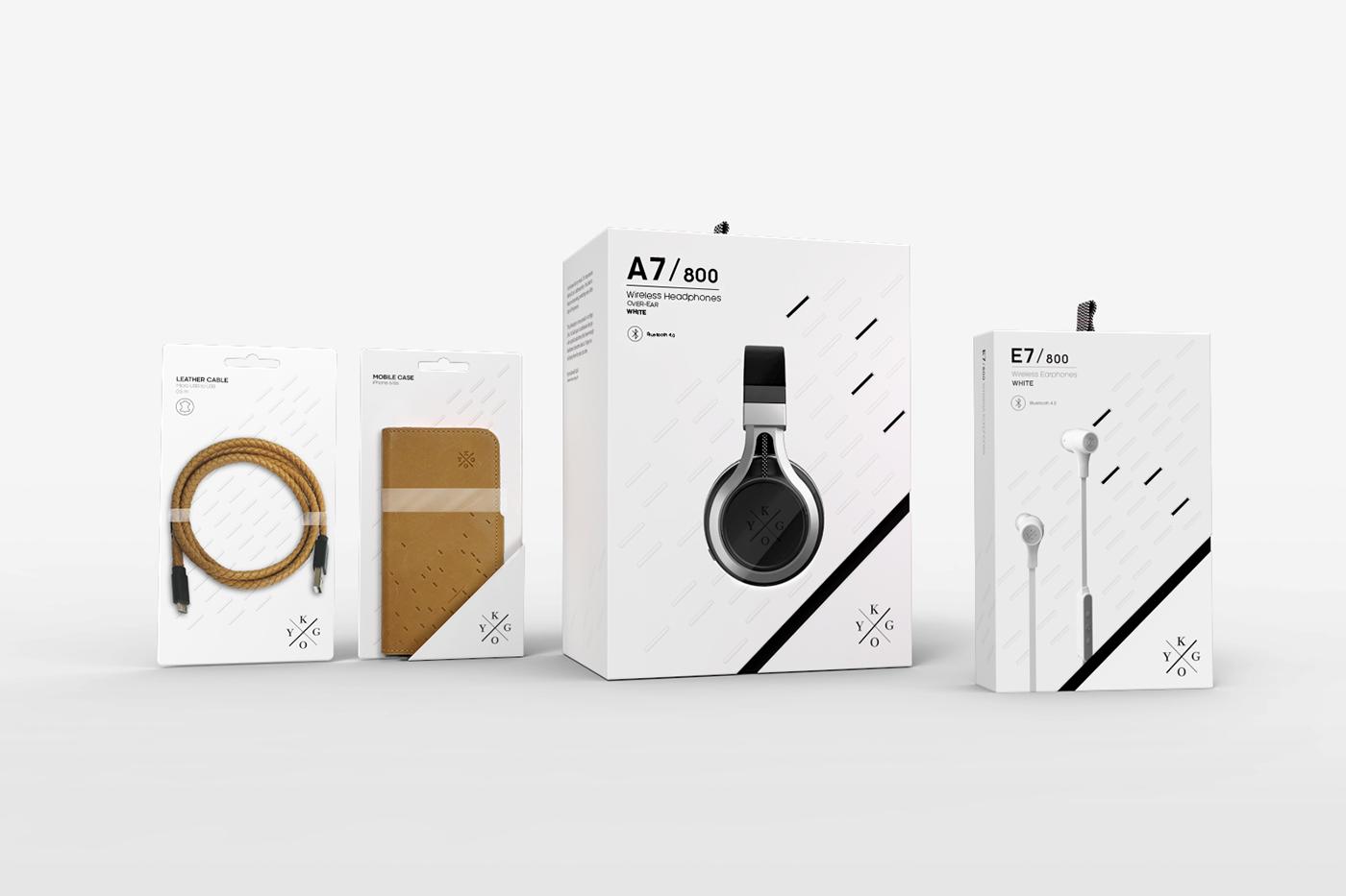kygo panorama design Fashion  Packaging design identity