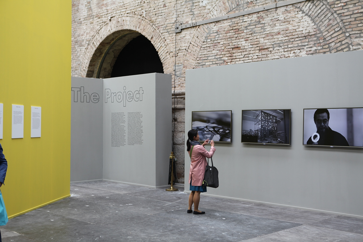 Exhibition  biennal graphic Venice
