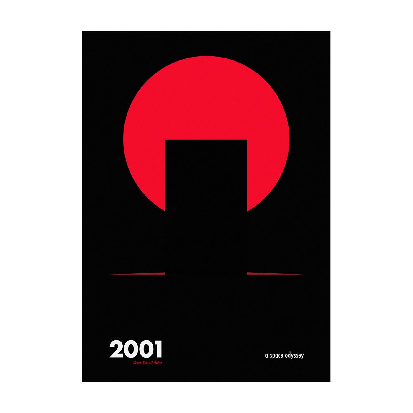 ILLUSTRATION  Kubrick Poster Design