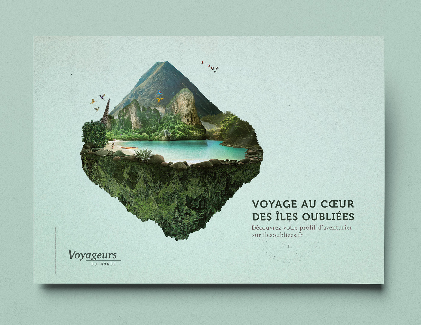 Travel Island travel guide exploration lost island mysterious island voyage map floating island discovery