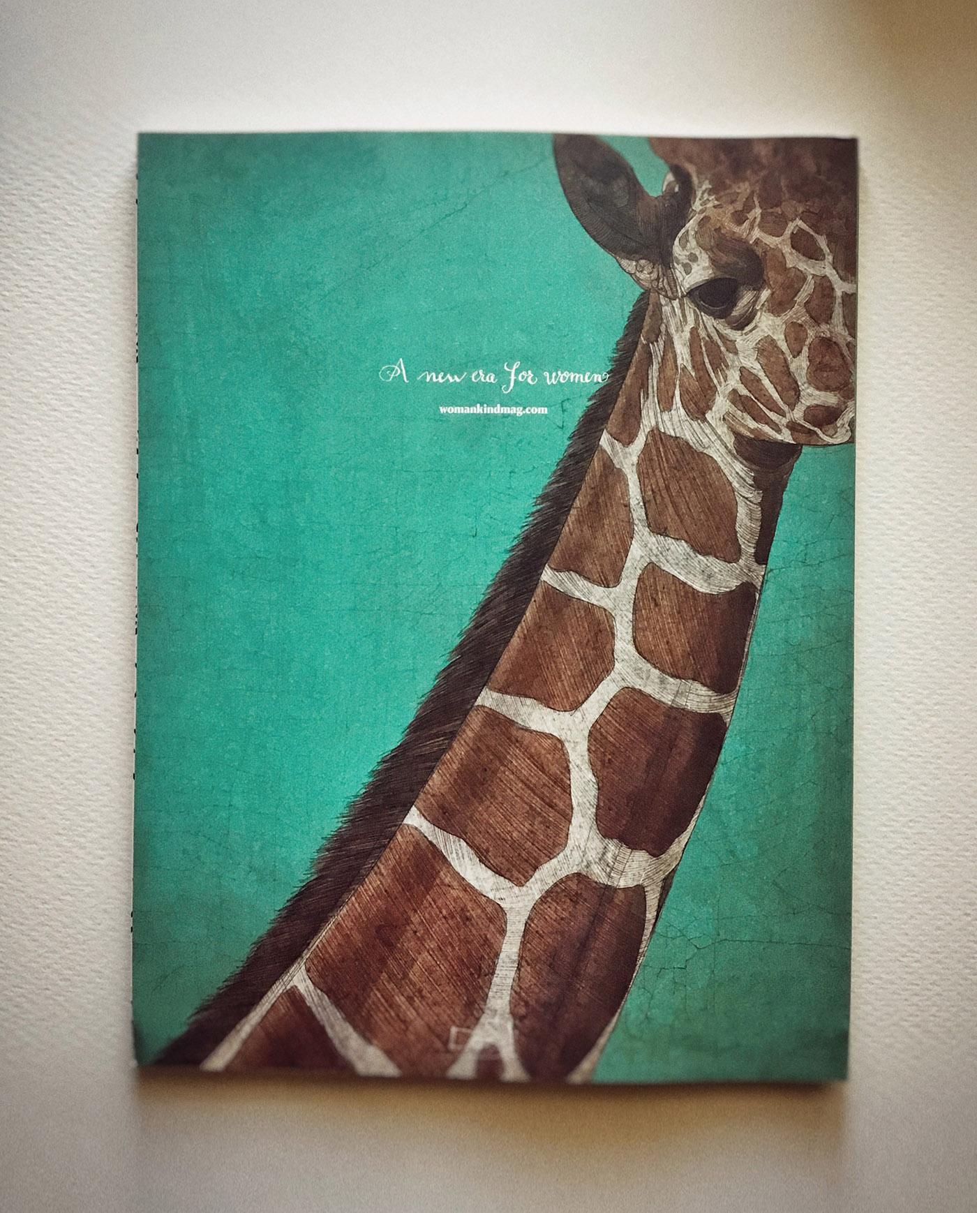 magazine cover Illustrator creative layaout design woman concept editorial