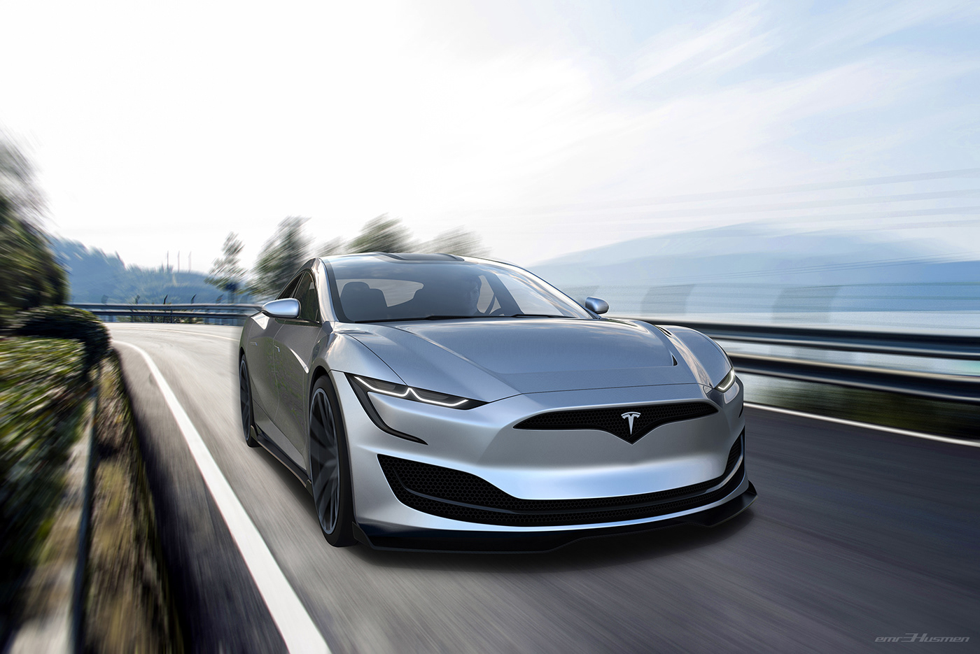 tesla models cardesign emrEHusmen concept future electriccar elonmusk spacex