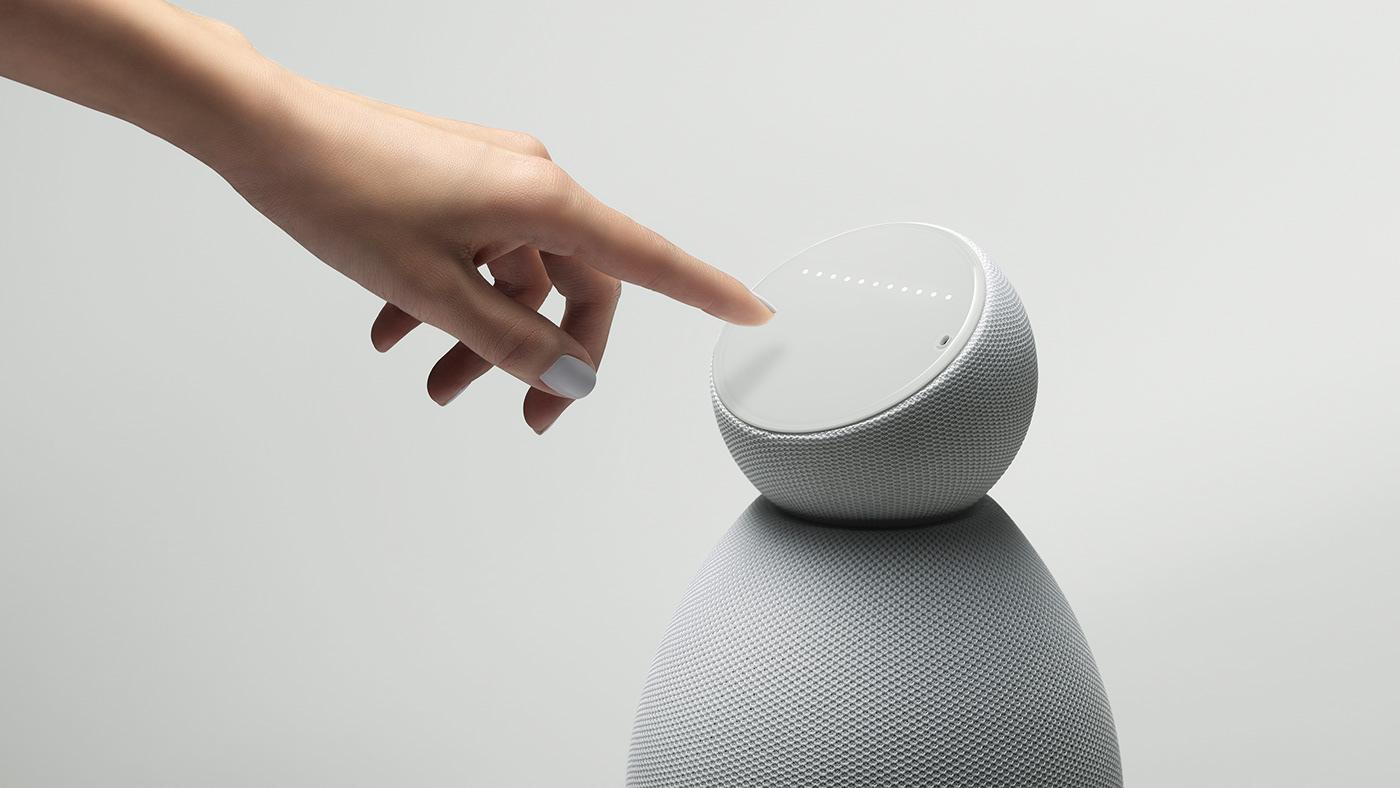 Arthur Kenzo connected design industrial design  maybe Smart Home Smart Speaker speaker voice Voice Speaker