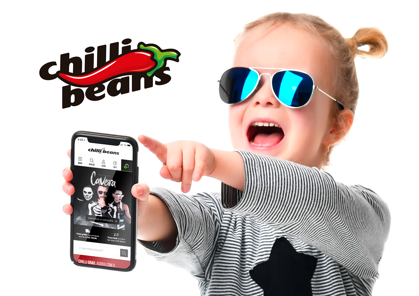 998bdeb3d64c1 Chilli Beans is the biggest eyewear and accessories company in Latin  America with more than 800 stores in Brazil and present 7 other countries.