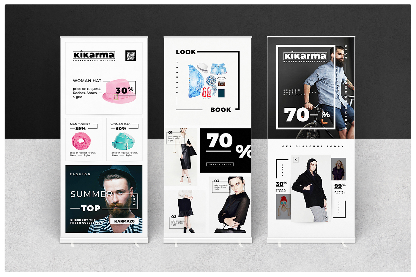Fashion Stand Banner