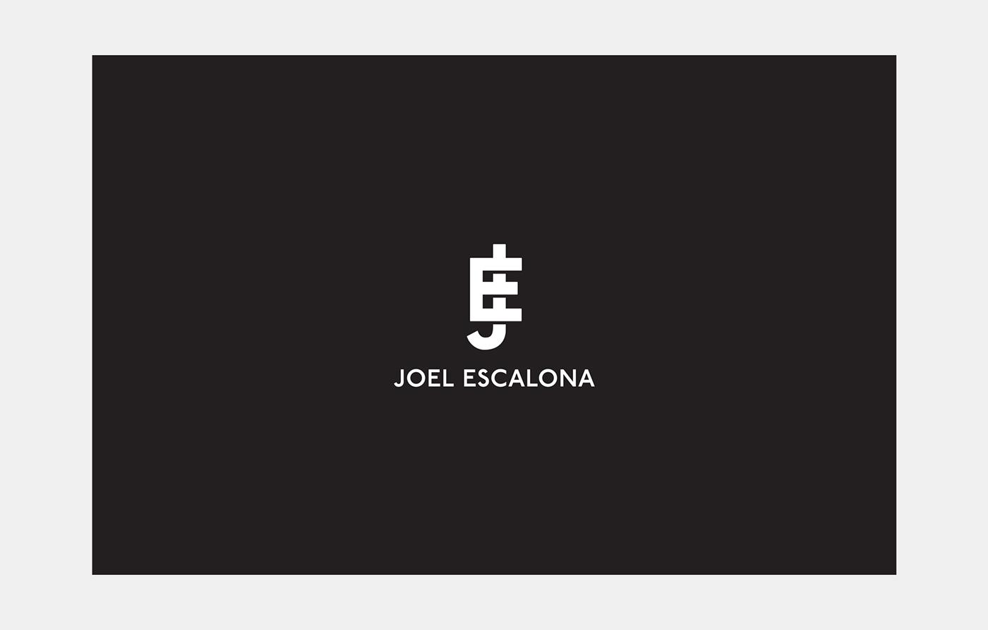 joel escalona identity logo