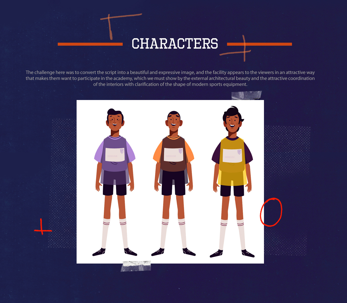 animation  Character design  football ILLUSTRATION  motiongraphics sport