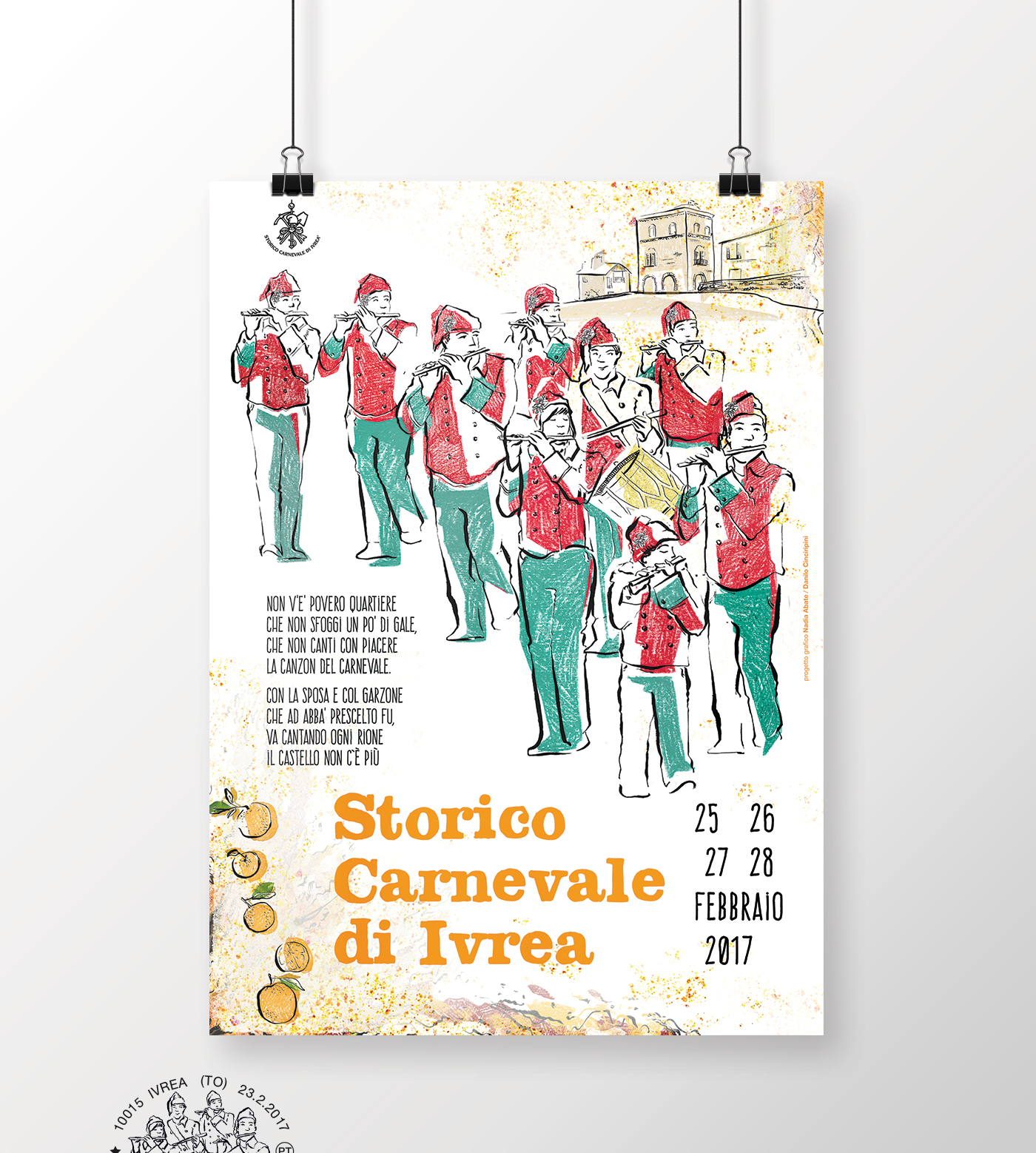 poster Poster Design ILLUSTRATION  carnevale Ivrea art direction  graphics Character design  graphic design