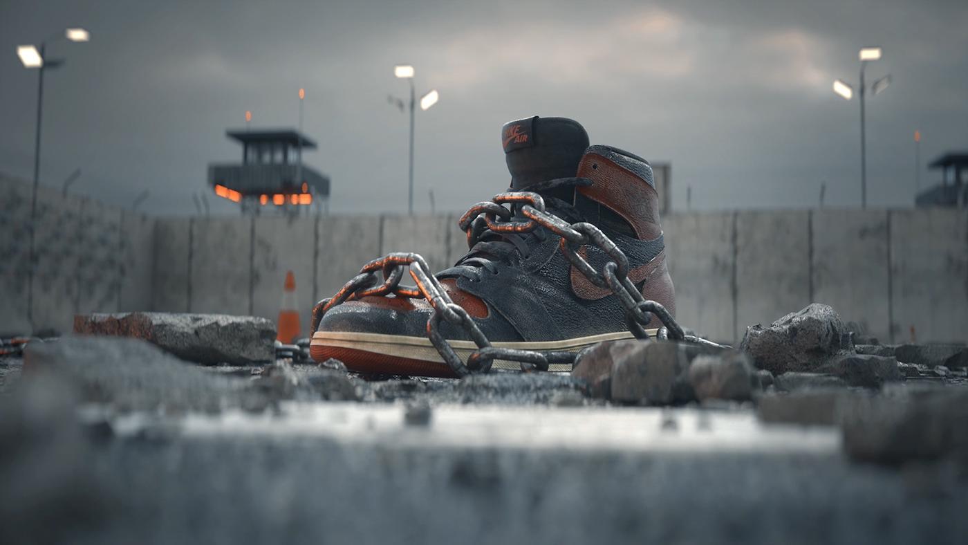 unbanned Main title title sequence basketball jordan Michael Jordan Nike sneakers Fashion  movie title