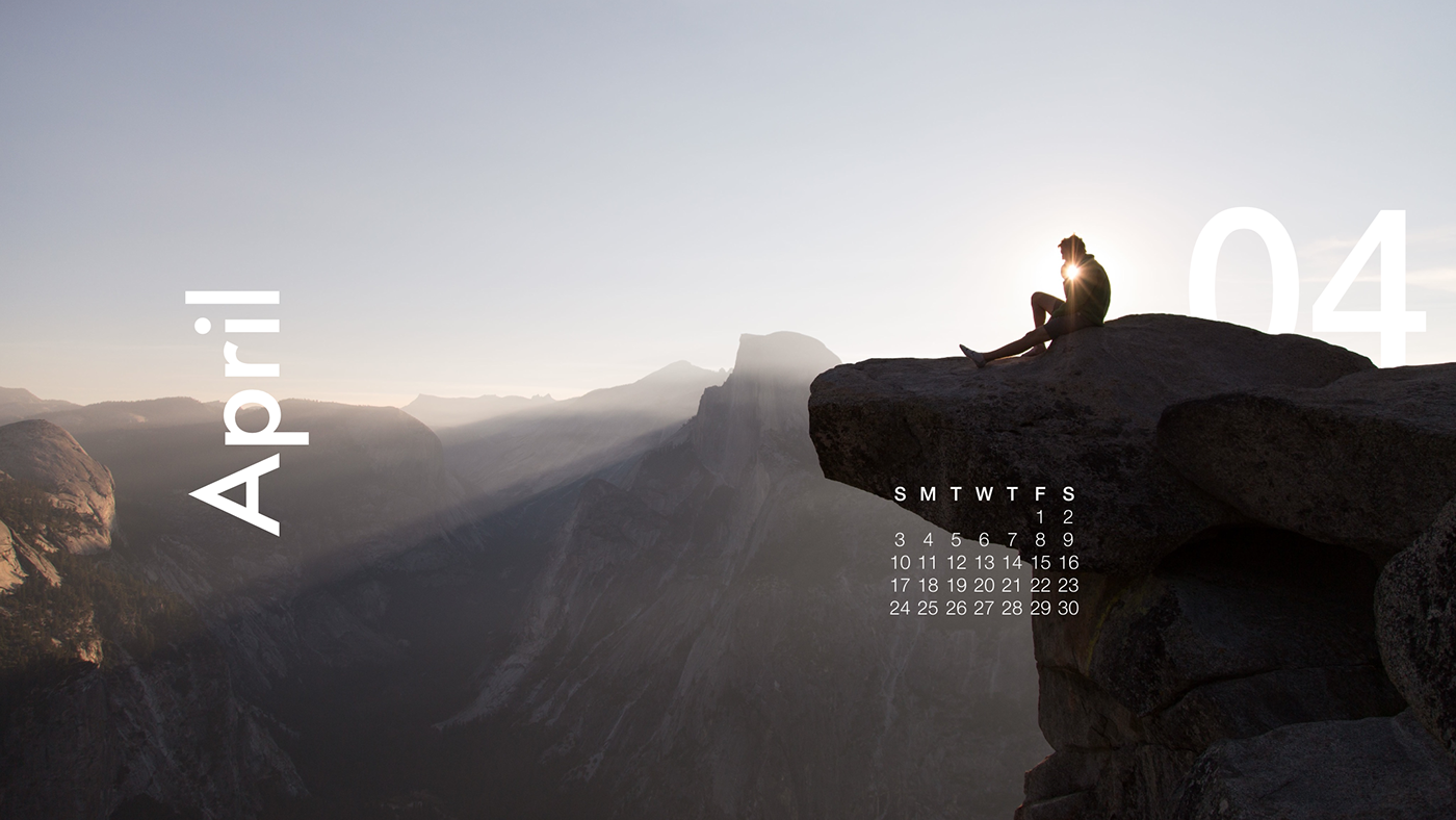 2016 year Photography  Nature month year january February unsplash minimal font