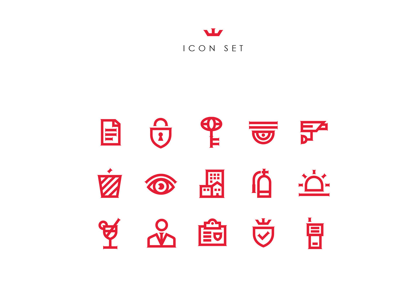 security shield rebranding branding  identity logo brand Website
